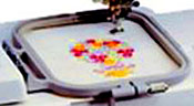 Brother SE400 has a 4x4 inch embroidery area