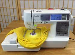 Brother SE400 Computerized Embroidery and Sewing Machine With USP Port