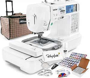 Brother LB-6800PRW Grand Slam Embroidery Package