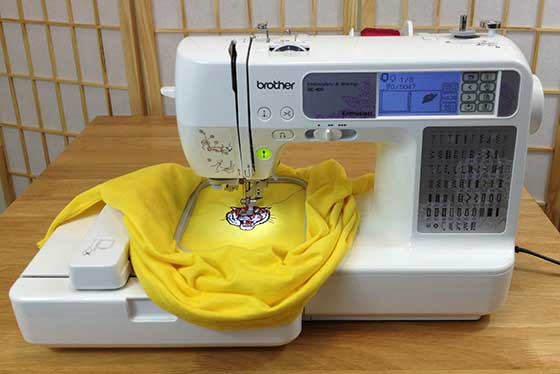 Brother SE40 Review Kamala Embroidery Stunning Brother Embroidery Sewing Machine