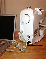 SE400 Connected to Computer