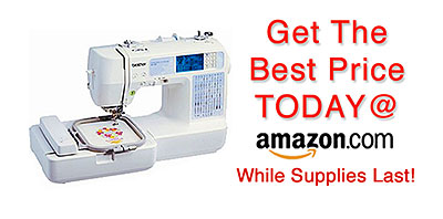 Buy Brother SE400 Computerized Embroidery and Sewing Machine With USP Port