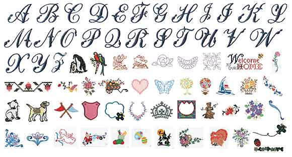Brother SE400 Built-in Embroidery Designs